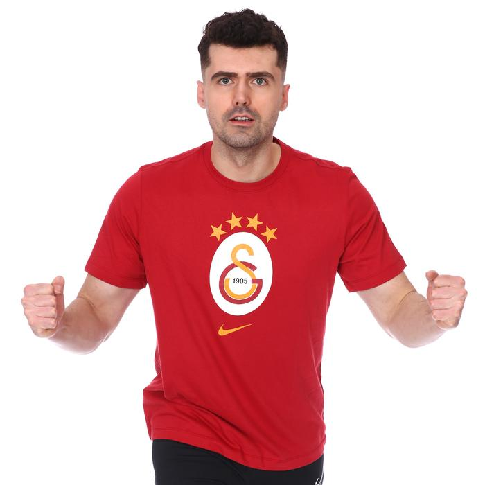 Galatasaray Evergreen Crest Erkek Kırmızı Futbol Tişört AQ7501-628 1106423