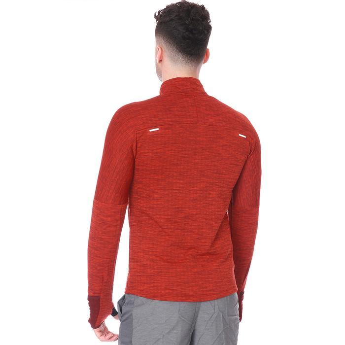 M Nk Sphr Elmnt Top Hz 3.0 Erkek Kırmızı Koşu Uzun Kollu Tişört CU6087-624 1234116