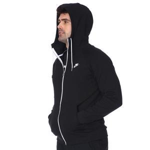 M Nsw Modern Hoodie Fz Erkek Siyah Günlük Stil Sweatshirt CU4455-010