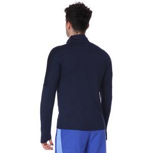M Nk Df Elmnt Top Hz Erkek Mavi Koşu Uzun Kollu Tişört CU6073-451