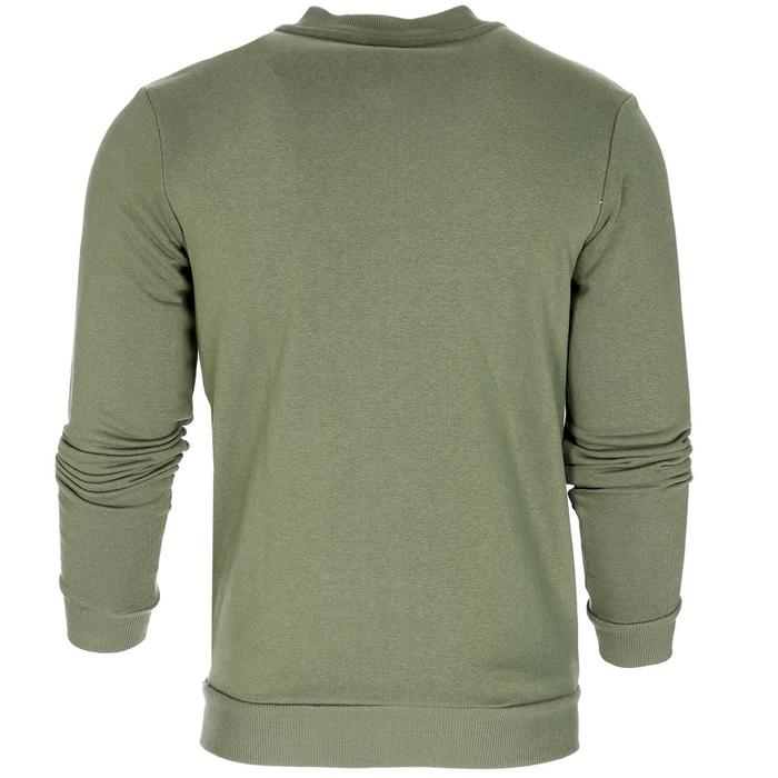 Full Zip Erkek Haki Günlük Stil Sweatshirt TKY100119-HKI 1235397