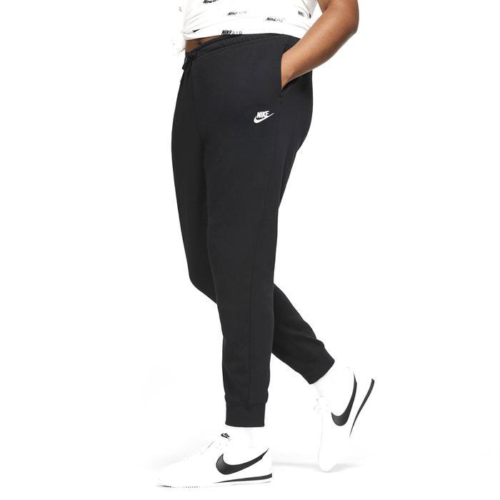 W Nsw Essntl Flc Mr Pnt Plus Kadın Siyah Günlük Stil Eşofman Altı CJ0412-010 1213040