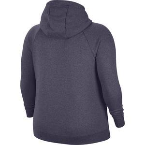 W Nsw Essntl Flc Fz Hdy Plus Kadın Mor Günlük Stil Sweatshirt CJ0401-573