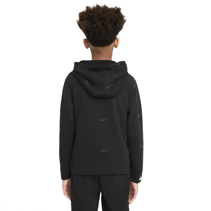 B Nsw Flc Swoosh Çocuk Siyah Günlük Stil Sweatshirt DA0774-010 1274404