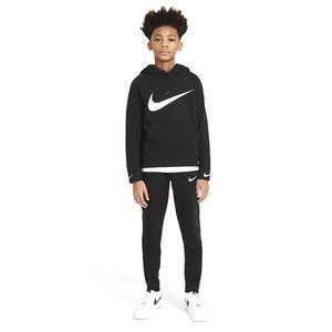 B Nsw Flc Swoosh Çocuk Siyah Günlük Stil Sweatshirt DA0774-010
