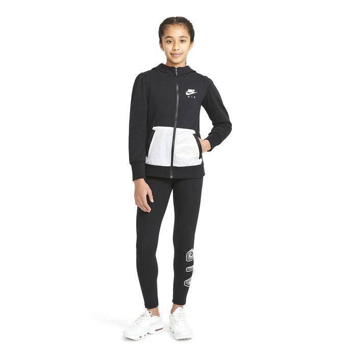 G Nsw Air Ft Fz Çocuk Siyah Günlük Stil Sweatshirt DA1179-010 1274428