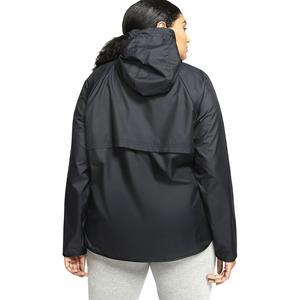 W Nsw Wr Jkt Plus Kadın Siyah Günlük Stil Ceket CJ0415-010