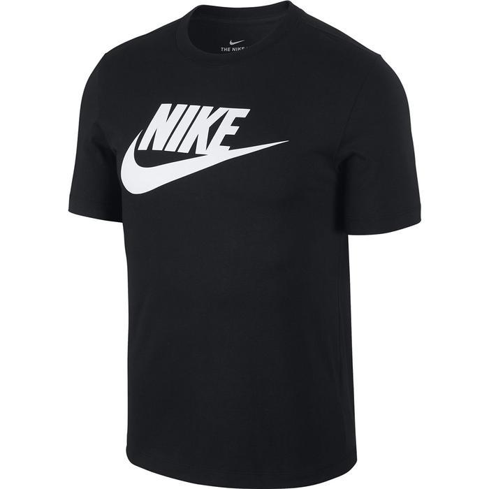 Nsw Tee İcon Futura Erkek Siyah Günlük Stil Tişört AR5004-010 1060888