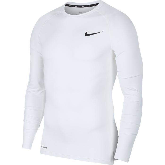 Pro Erkek Beyaz Futbol Uzun Kollu Tişört BV5588-100 1227837