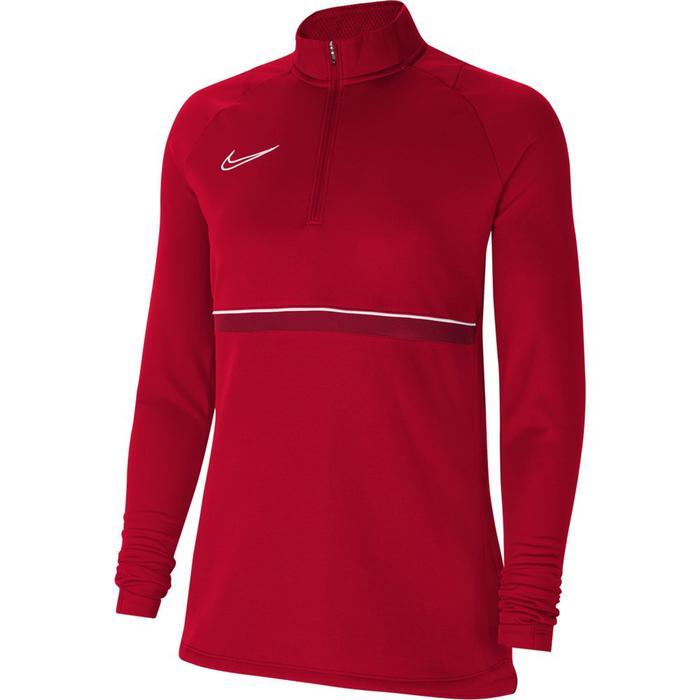 W Nk Df Acd21 Dril Top Kadın Kırmızı Futbol Uzun Kollu Tişört CV2653-657 1272590