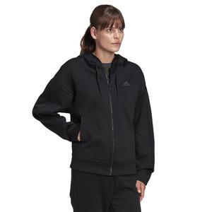 W V2 Fz Hd Kadın Siyah Günlük Stil Ceket GH4888