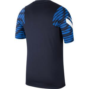 M Nk Df Strke21 Top Ss Erkek Mavi Futbol Tişört CW5843-451