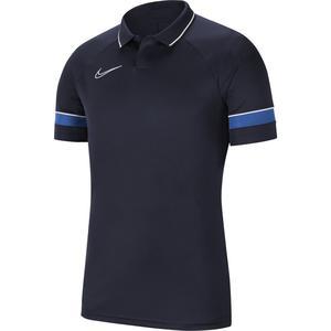 M Nk Df Acd21 Polo Ss Erkek Lacivert-Mavi Futbol Polo Yaka Tişört CW6104-453
