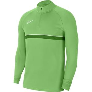 M Nk Df Acd21 Dril Top Erkek Yeşil Futbol Uzun Kollu Tişört CW6110-362