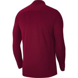M Nk Df Acd21 Dril Top Erkek Kırmızı Futbol Uzun Kollu Tişört CW6110-677