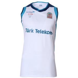 Türk Telekom Erkek Beyaz Basketbol Forma TKU100116-BYZ