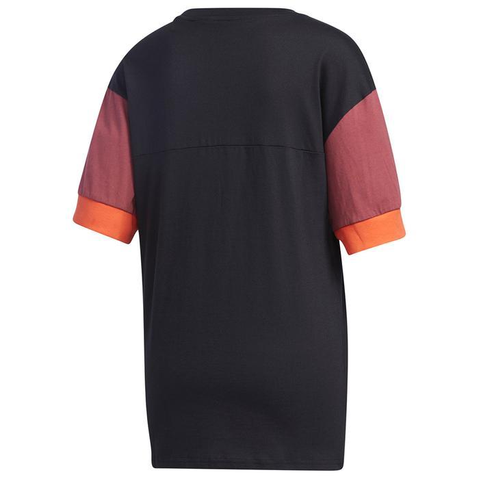 W New A T Kadın Siyah Günlük Stil Tişört GD9031 1224129