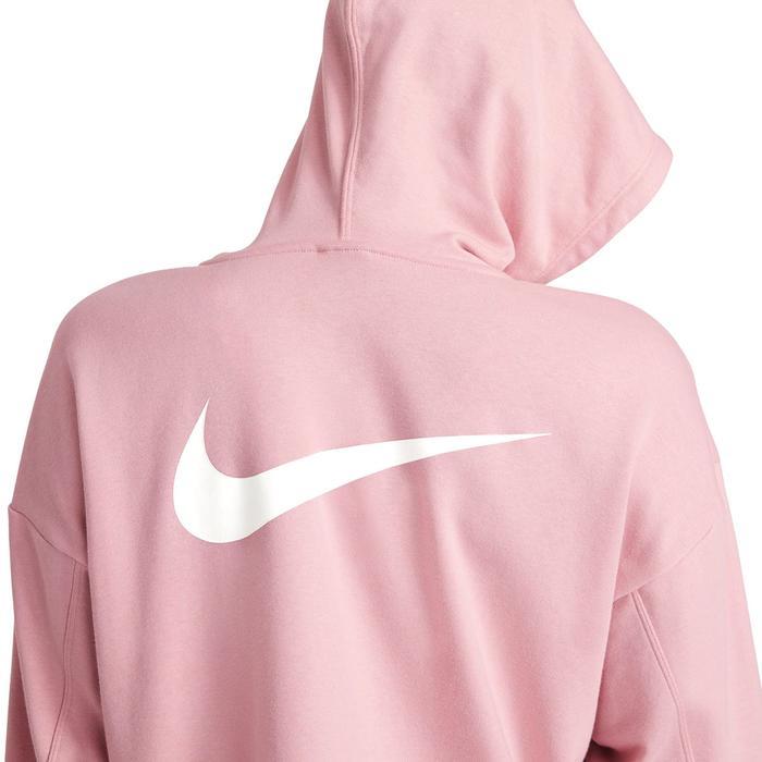 W Nk Dry Get Fit Flc Grx Fz Kadın Pembe Antrenman Sweatshirt DA0378-630 1274372