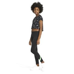 G Nsw Favorites Swsh Tight Çocuk Siyah Günlük Stil Tayt AR4076-015
