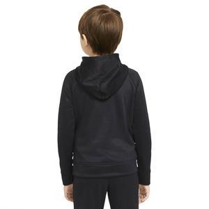 B Nk Therma Gfx Fz Hoodie Çocuk Siyah Günlük Stil Sweatshirt CU9087-010