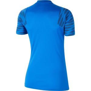 W Nk Df Strke21 Top Ss Kadın Mavi Futbol Tişört CW6091-463