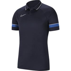 Y Nk Df Acd21 Polo Ss Çocuk Mavi Futbol Polo Tişört CW6106-453