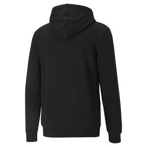 Ess Big Logo Hoodie Erkek Siyah Günlük Stil Sweatshirt 58668801