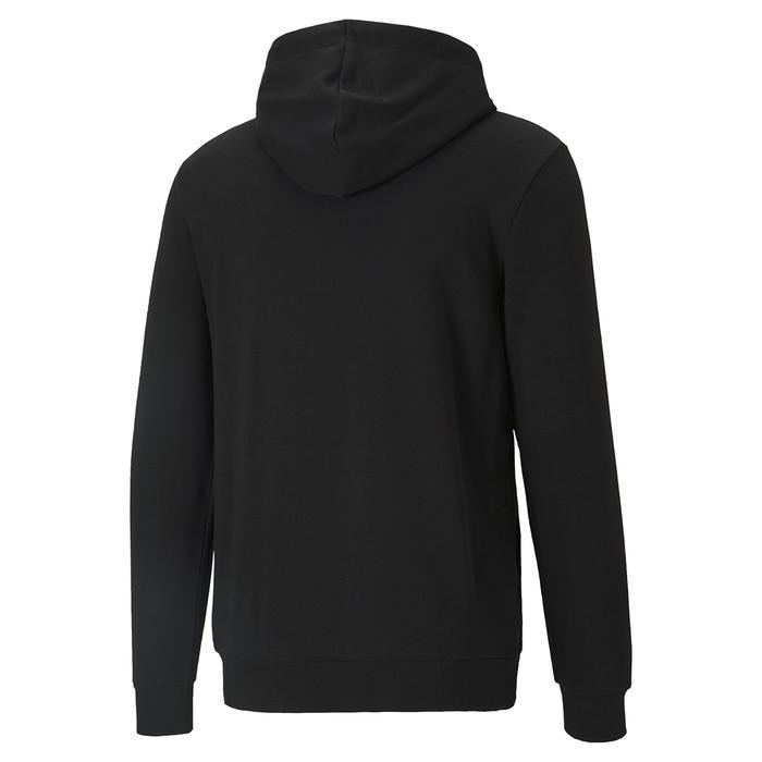 Ess Big Logo Hoodie Erkek Siyah Günlük Stil Sweatshirt 58668801 1218044