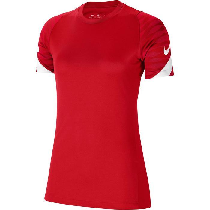 W Nk Df Strke21 Top Ss Kadın Kırmızı Futbol Tişört CW6091-657 1272302