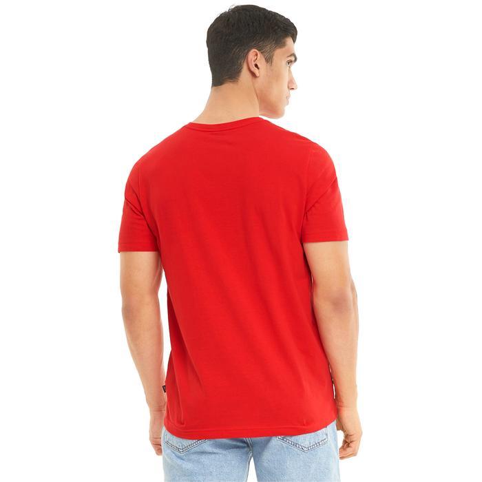 Ess Logo Tee Erkek Kırmızı Günlük Stil Tişört 58666611 1217988