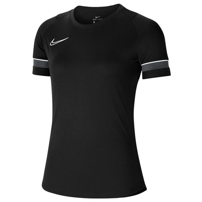 W Nk Df Acd21 Top Ss Kadın Siyah Futbol Tişört CV2627-014 1272498