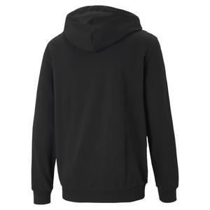 Ess Small Logo Fz Hoodie Erkek Siyah Günlük Stil Sweatshirt 58670451