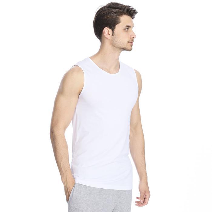 Spt Erkek Beyaz Antrenman Atleti 500704-00B-SP 1279543