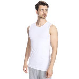 Spt Erkek Beyaz Antrenman Atleti 500704-00B-SP