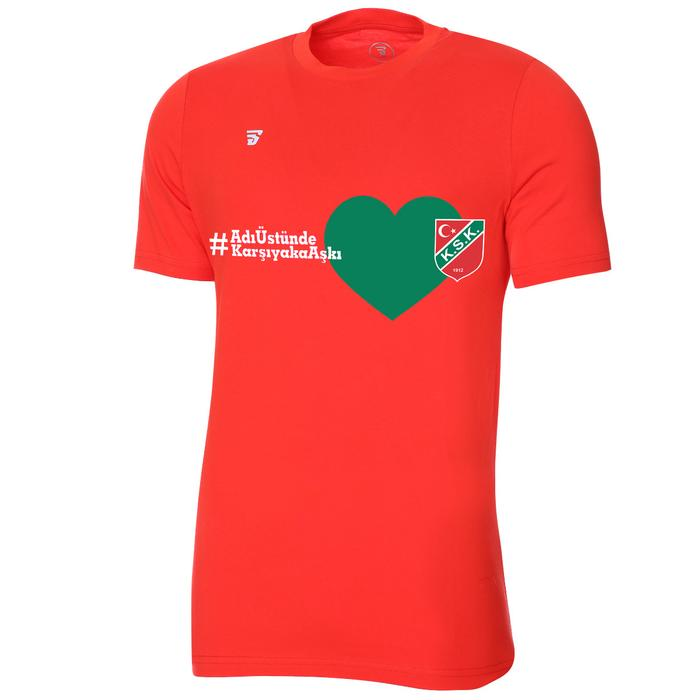 Karşıyaka Aşkı Unisex Kırmızı Tişört TKY100102-KRM-14 1279800