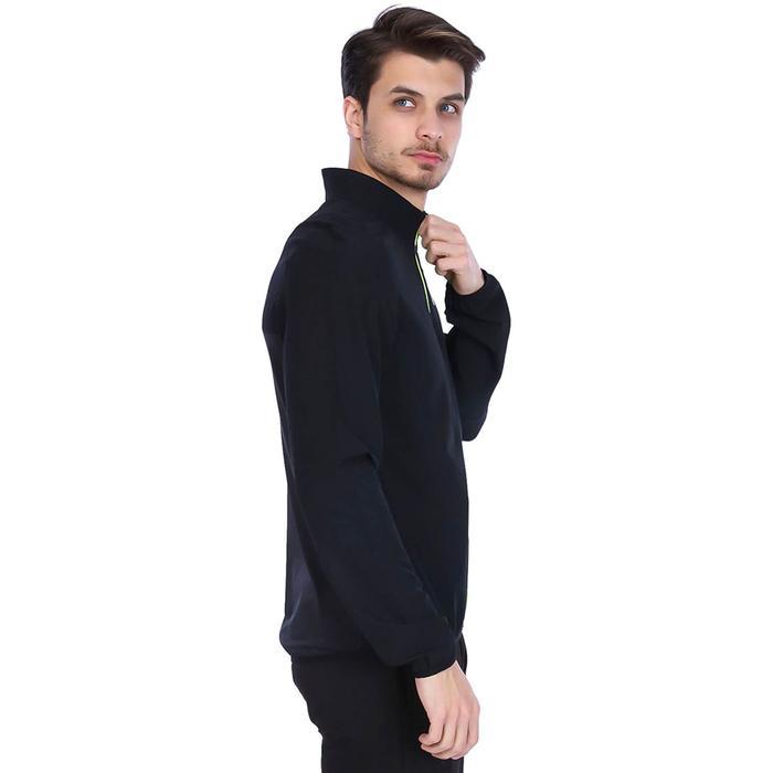 Spo-Polruntrack Erkek Siyah Günlük Stil Sweatshirt 710196-BLC-SP 1279057
