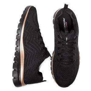 Graceful-Get Connected Kadın Siyah Günlük Ayakkabı 12615 BKRG