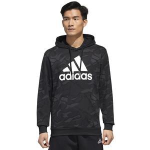 M E Aop Hdy Erkek Siyah Antrenman Sweatshirt GD5489