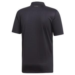 Club 3Str Polo Erkek Siyah Tenis Polo Tişört DU0848