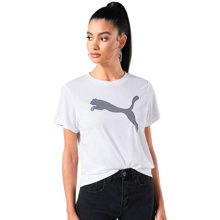 Evostripe Tee Kadın Beyaz Günlük Stil Tişört 58594102 1217721