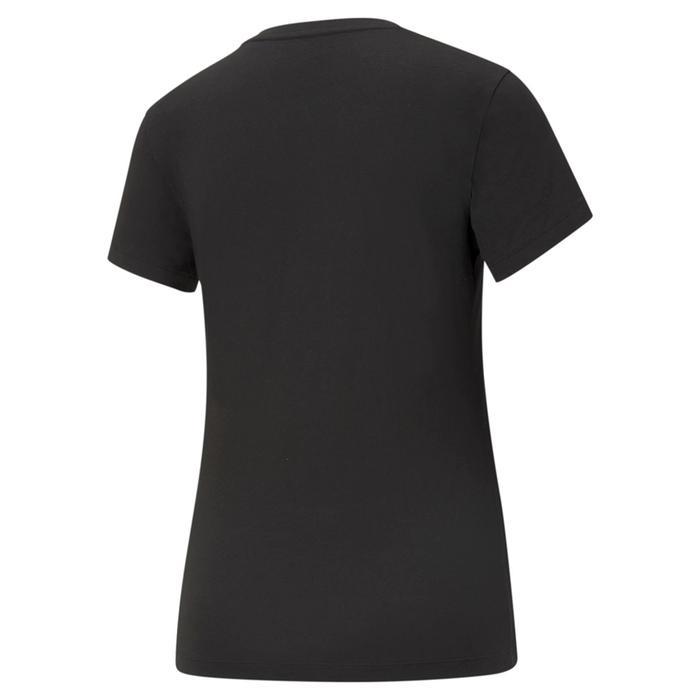 Ess Logo Tee Kadın Siyah Günlük Stil Tişört 58677401 1218146