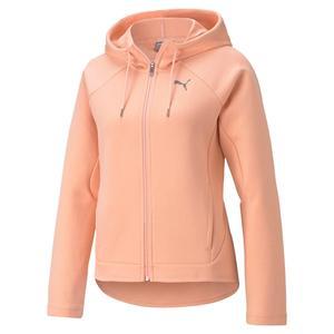 Evostripe Full-Zip Hoodie Kadın Pembe Günlük Stil Sweatshirt 58594526