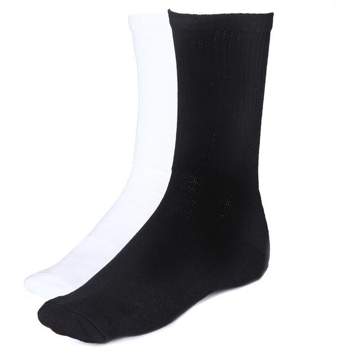 Spt Erkek Siyah - Beyaz Günlük Stil Çorap 2021003-SB 1279488