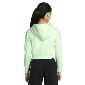 G Nsw Crop Hoodie Fill Çocuk Yeşil Günlük Stil Sweatshirt DC9763-390