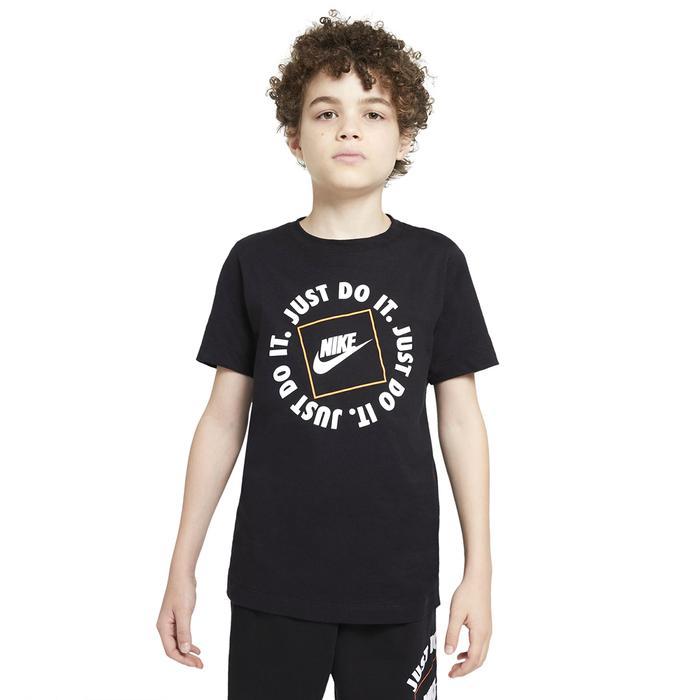 B Nsw Tee Jdi Box Çocuk Siyah Günlük Stil Tişört DC7522-010 1273115