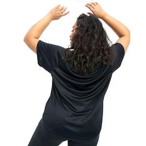 W Nk Icon Clash Run Ss Gx Plus Kadın Siyah Koşu Tişört DC6897-010