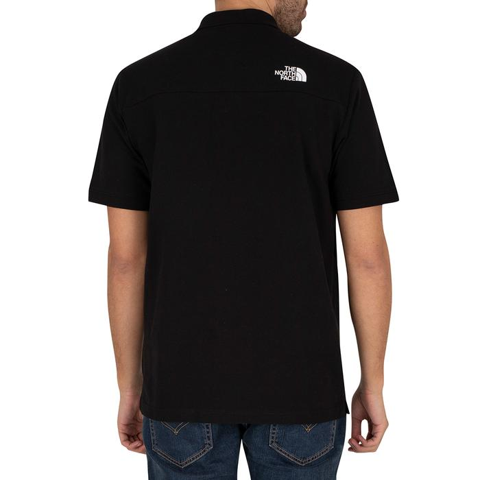 M Calpine Polo Erkek Siyah Outdoor Tişört NF0A4M8KJK31 1280177