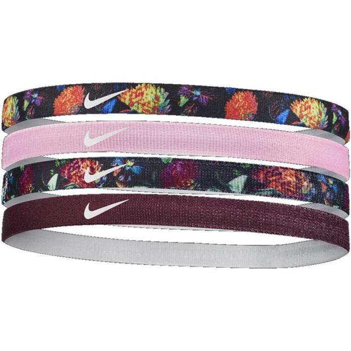 GirlS Printed Headbands 4Pk Unisex Siyah Antrenman Saç Bandı N.000.1144.953.OS 1042384
