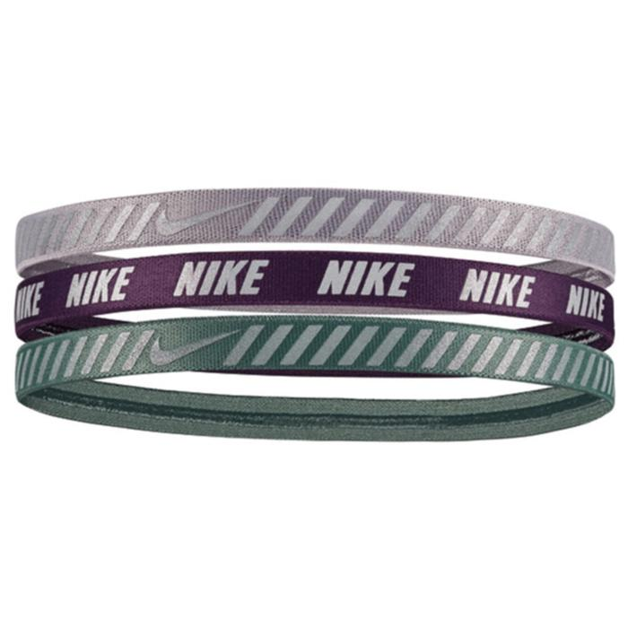 Printed Hazard Stripe Headbands Assorted 3Pk Unisex Gri Antrenman Saç Bandı N.000.0066.973.OS 1238117