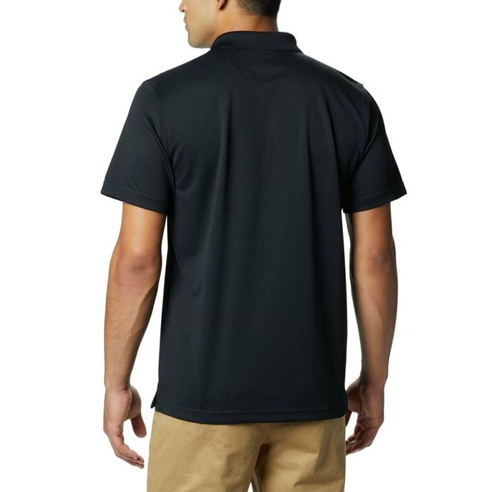 Utilizer Erkek Siyah Günlük Polo Tişört AO0126-010 1189317